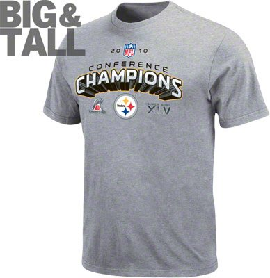 753c71d45 Pittsburgh Steelers Big and Tall AFC Champions T-Shirt