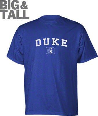 Big and Tall Duke Blue Devils Logo T-Shirt