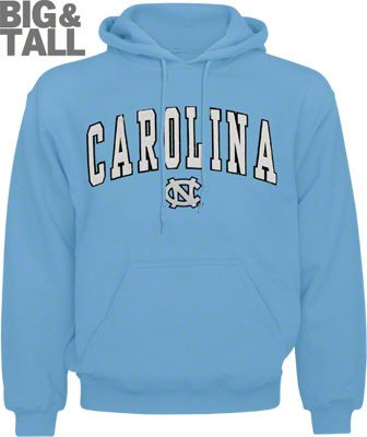 North Carolina Tar Heels Big N Tall T Shirts And Sweatshirts