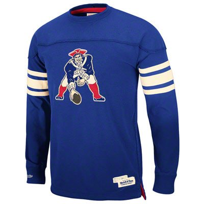 afaeef4cf Big and Tall New England Patriots Throwback Jersey Shirt